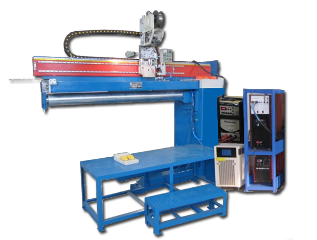 Automated Longitudinal Seam Welder (PAW+TIG Dual Use)