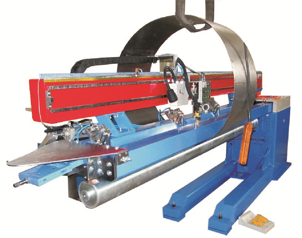 Automated Multi-function Longitudinal Seam Welder
