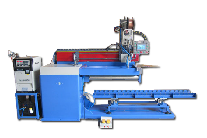 Automated MAG Longitudinal Seam Welding machine