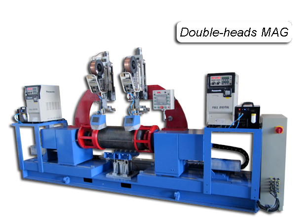 Automated MAG Circumferential Welding Machine