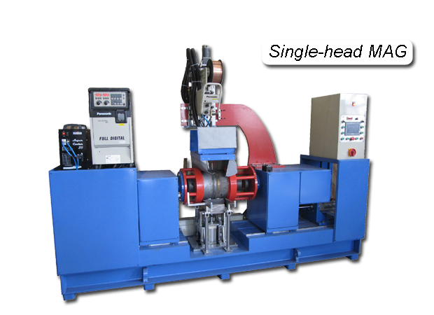 Automated Circumferential Lathe Welder Single head MAG