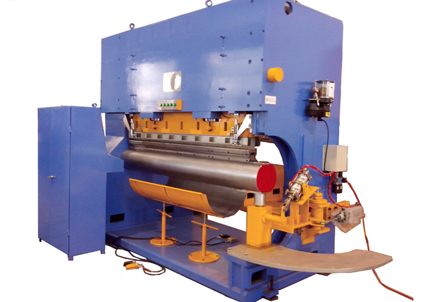 Bending and Lapping Integrated Machine