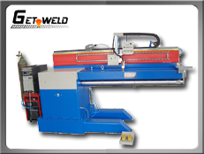 Automated Longitudinal TIG Seam welder
