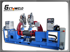 Automated MAG Circumferential Lathe Welder