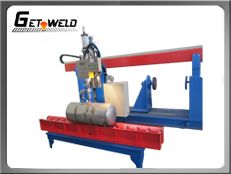 spud welder, tube/pipe welding station