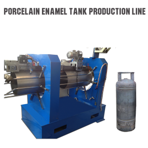 005 Porcelain enamel tank production line 4
