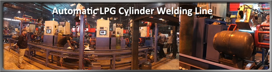 Getweld Automatic LPG cylinder Welding Line